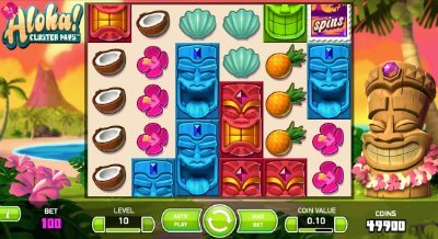 Aloha! Cluster Pays - Play Free | Net Entertainment Casino Slots