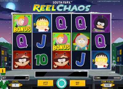 South Park Gambling