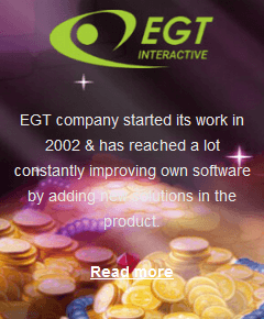 EGT software