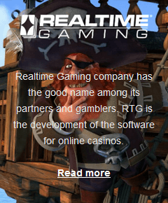 Realtime Gaming software