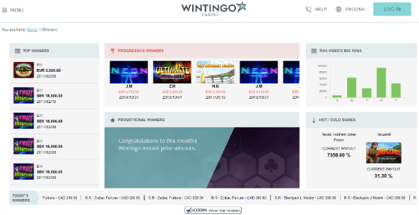 Wintingo Winners