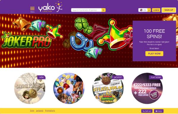 Yako Jackpots