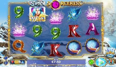 Spin Sorceress slot