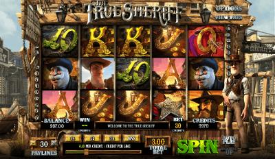 The True Sheriff slot