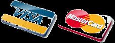 Visa or MasterCard