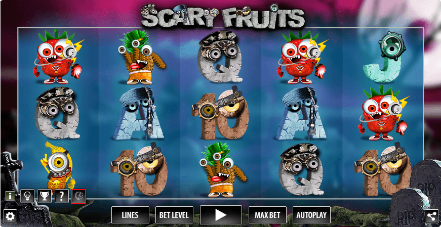 Scary Fruits RTP