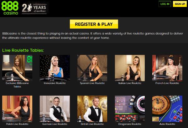 roulettes casino online s