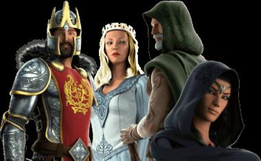 Avalon II heroes