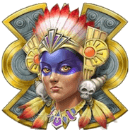 Aztec Warrior Princess scatter