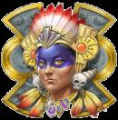 Aztec Warrior Princess scatter