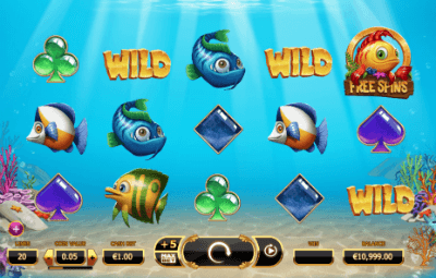 Golden Fish Tank Slots - Free to Play Online Demo Game