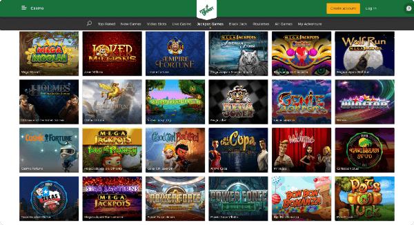 Mr Green Jackpot Slots