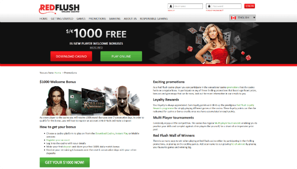 Red Flush Promotions