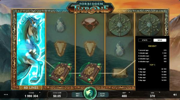 Win slot