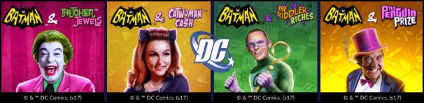 DC Comic Slots