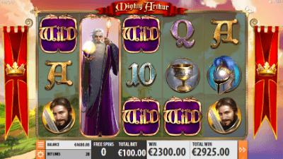 Mighty Arthur slot