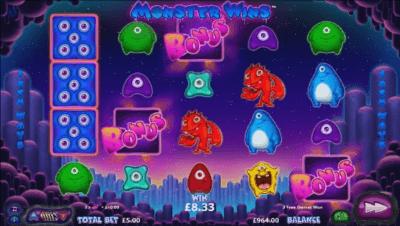 Monster Wins slot
