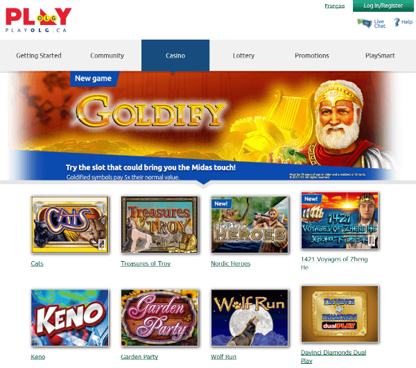 Olg Online Slots Review