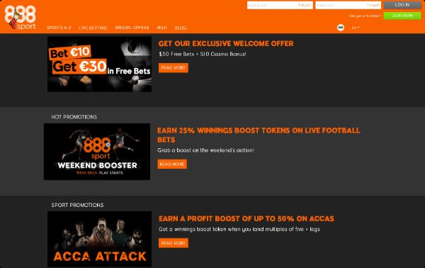 888 Sport Promotions