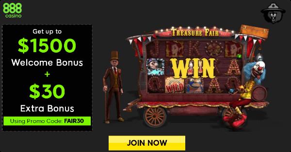 888 Casino Special Offer
