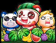 Wacky Panda heroes
