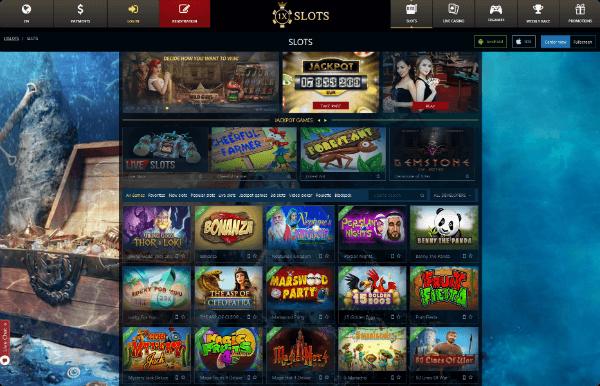 1XSLOTS Casino Slots