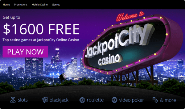 Jackpot City Casino Bonus C$ 1600