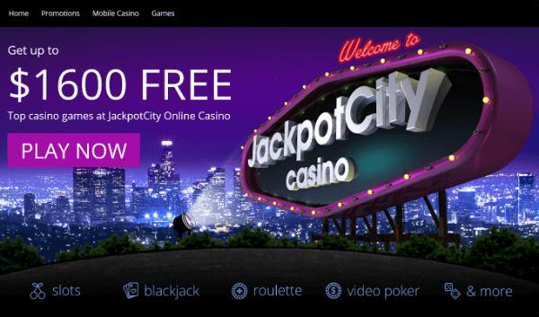 Jackpot City Casino Bonus C$ 1600