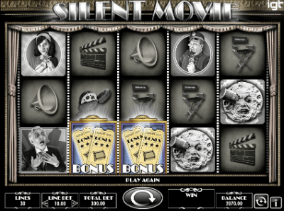 Silent Movie slot