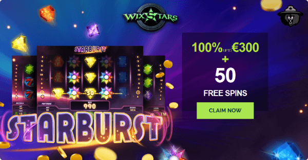 Wixstars Casino Special Offer