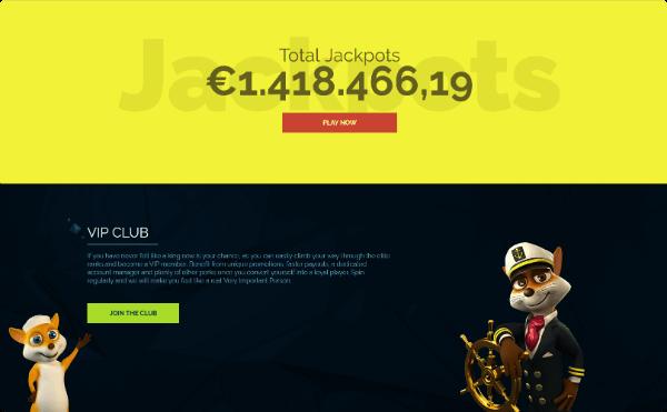 Wixstars Casino jackpots