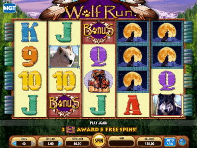 Free Slot Play Wolf Run