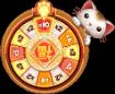 Big Win Cat bonus wheel