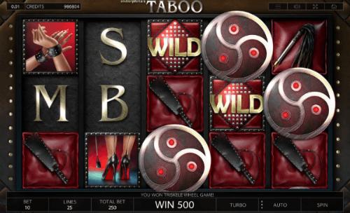 Taboo Bonus Game