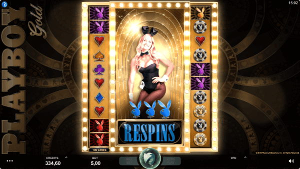 Playboy Gold Respins