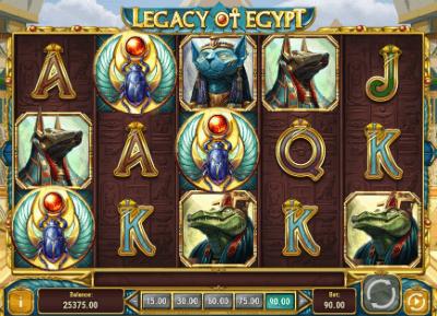 Legacy of Egypt slot