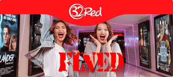 32Red Casino Fined