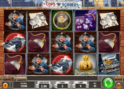 Cops N Robbers Play Free Play N Go Software Casino Slots
