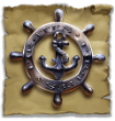 Pirate's Charm handwheel