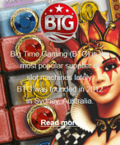 Big Time Gaming software