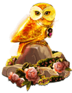 The Golden Owl Of Athena owl