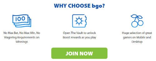 Why choose BGO