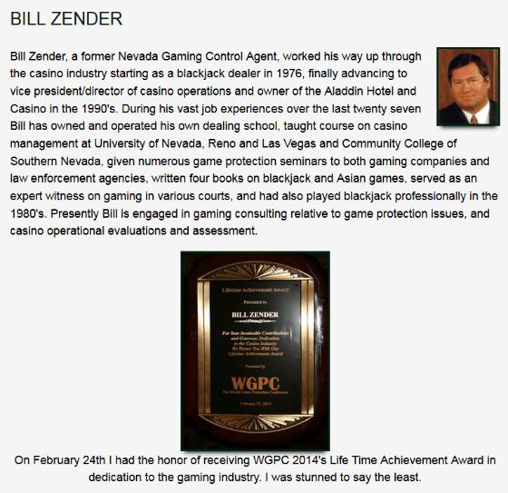About Bill Zender