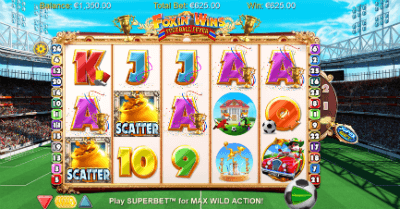 Foxin' Wins Football Fever slot