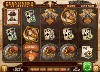Gunslinger: Reloaded slot