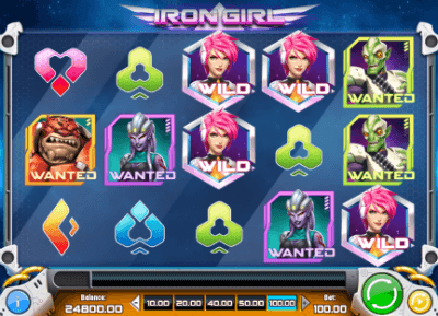 Iron Girl slot