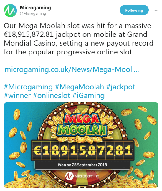 Microgaming Twitter