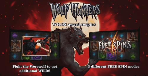 Wolf Hunters Bonuses