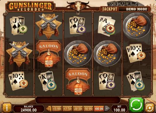 Gunslinger:Reloaded slot