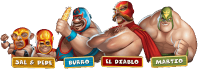 Lucha Legends heroes